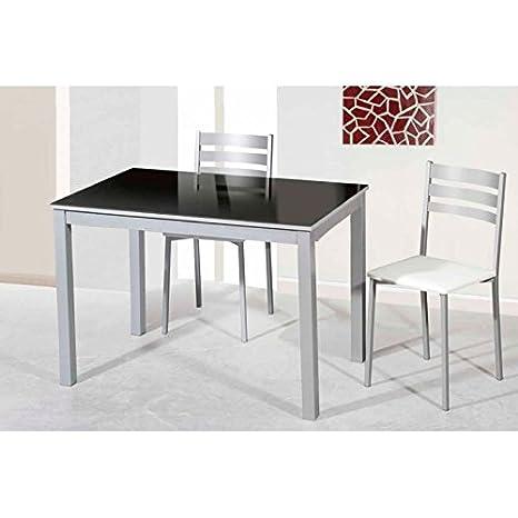 Amuebla 902. Mesa DE Cocina Extensible DE 110 X 70 CM ...