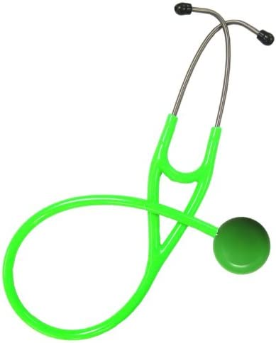MAXIScope Light Green Single Stethoscope – Light Green Tubing Adult