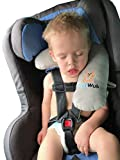 Kid's Seatbelt Travel Pillow Specifically Designed for Children's Head, Neck and Chin Support