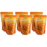 Sonoma Creamery--Mr. Cheese O's Cheddar--Pack of 6-3.75oz bags--High Protein, Low Carb, Gluten Free, Wheat Free, Corn Free Snack