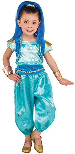 [Rubie's Costume Shimmer & Shine Deluxe Shine Costume, Small] (Disney Dressing Up Costumes)