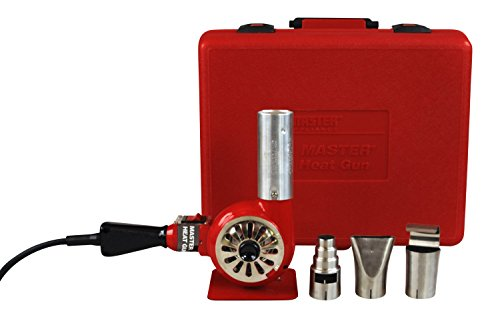 Master Appliance HG-751B Professional Heavy Duty Heat Gun Kit, 1000-Degree Fahrenheit 120V 1740 Watts