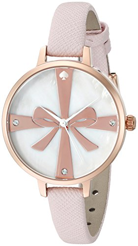 kate spade new york Womens 1YRU0879 Metro Analog Display Japanese Quartz Pink Watch