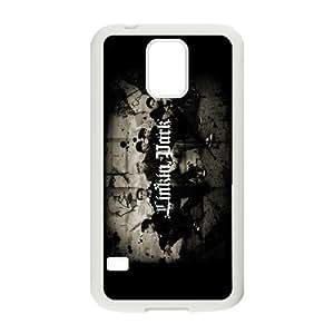 Unique Design -ZE-MIN PHONE CASE For Samsung Galaxy S5 -Music Band Linkin Park Pattern 2