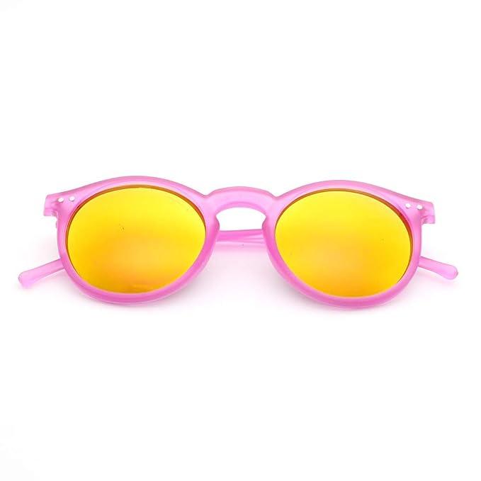 Yangjing-hl Gafas de Sol Redondas de uñas de arroz Gafas de ...