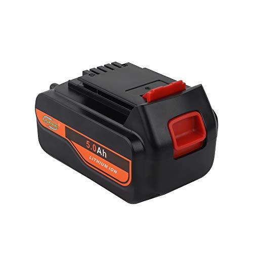 【Upgrade】 DSANKE 5.0Ah 20V MAX Replacement Battery for Black&Decker LBXR20 LBXR20-OPE LB20 LBX20 LBX4020 LB2X4020-OPE Black and Decker Lithium Battery (Lithium 20 Volt Battery)