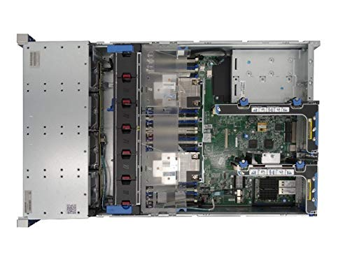 1 Year 8x5xNBD Warranty Rails HP ProLiant DL380 G9 4 Bay LFF 2U Server Renewed 2X 4TB 7.2K SATA 6Gbps 3.5 Drives 2X Intel Xeon E5-2680 V3 2.5GHz 12 Core 10GB//40GB 16GB DDR4