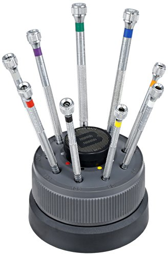 Bergeon 55-613 Nine Screwdriver Set Watch Repair Kit by Bergeon