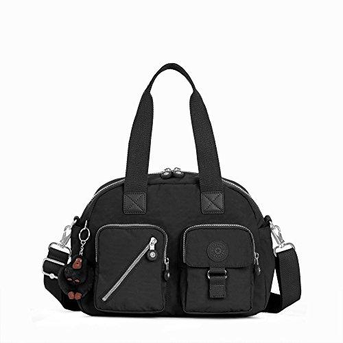 a Handbag with Shoulder Strap, Black, One Size ()