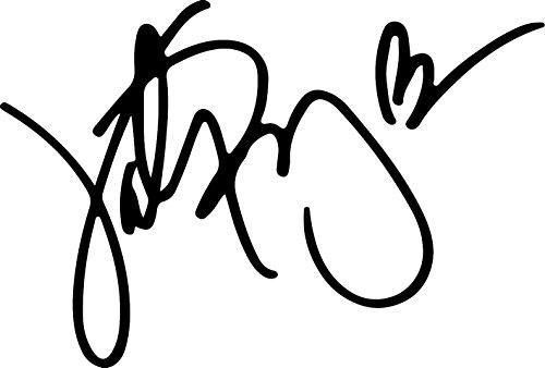 Katy Perry Signature (BLACK) Waterproof Vinyl Decal Stickers for Laptop Phone Helmet Car Window Bumper Mug Tuber Cup Door Wall - Katy Perrys Cat
