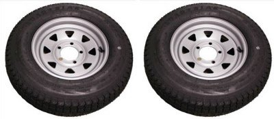 ST175/80 D13 TRITON CLASS C SNOWMOBILE TRAILER TIRE - Pair by Triton