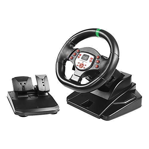 DOYO Pro Sport Steering Racing Wheel for PS3/PS4/XBOX One/XBOX 360/SWITCH/PC/Android