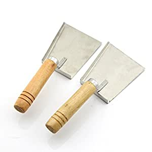 CHENGYIDA Pack of 2PCS Bee Honey Shovel Scraper Hive Tool