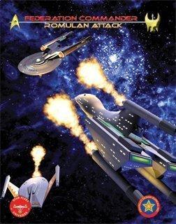 (Federation Commander Romulan Attack ADB 4102 by Board Games )
