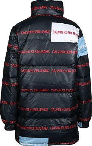 Doudoune Calvin Klein Jeans Multi W Noir Logo qXBX6wdr