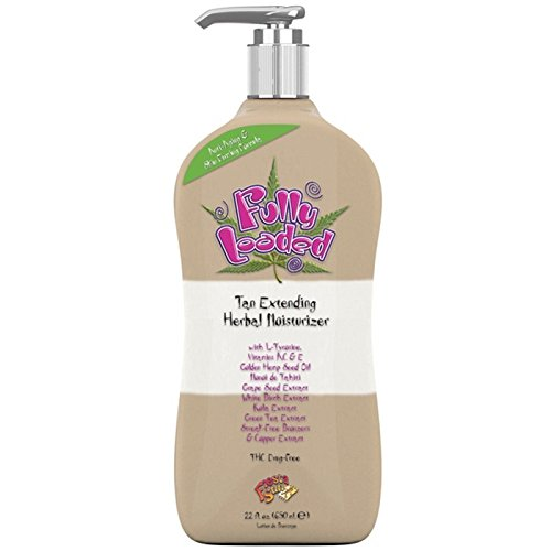Fiesta Sun FULLY LOADED Tan Extending Moisturizer 22 (Huckleberry Lotion)