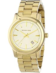 Michael Kors Womens MK5160 3 Hand Runway Watch