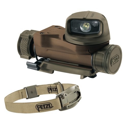 Petzl STRIX VL tactical headlamp Desert by Petzl