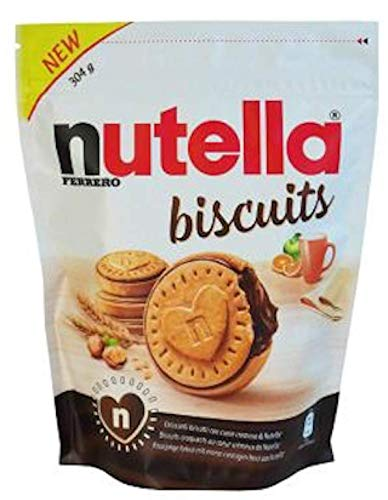 Nutella Biscuits Resealable Bag