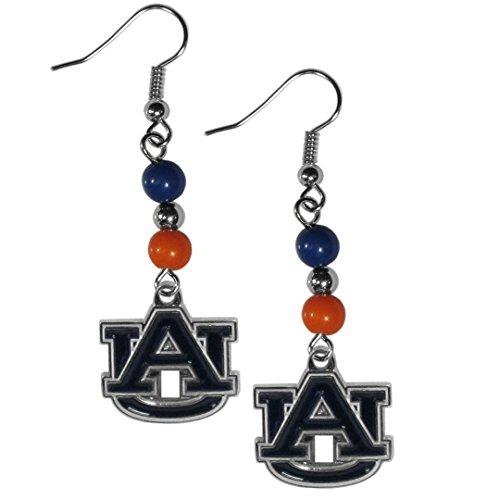 Siskiyou NCAA Auburn Tigers Women's Fan Bead Dangle Earrings