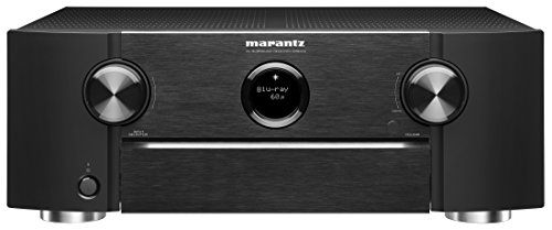 Marantz SR6012 9.2 Channel Full 4K Ultra HD Network AV Surround Receiver with HEOS black, Works with (High Def Component)