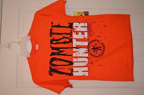 Men's Zombie Hunter T-shirt NWT Halloween Costume Size XL]()
