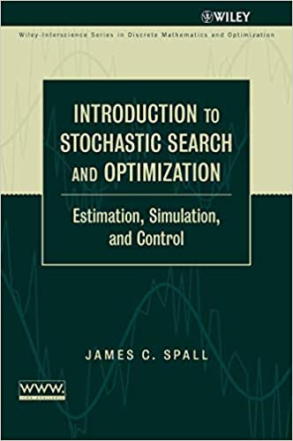 Introduction to Stochastic Search and Optimization: Estimation, Simulation, and Control (Wiley Series in Discrete Mathematics and Optimization) 9780471330523 Electrical & Electronic Engineering at amazon