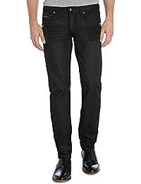 Mens Slim Hyper Stretch Motion Denim Five Pocket Jean
