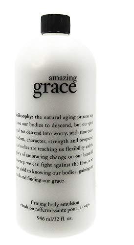 Philosophy Amazing Grace Firming Body Emulsion - 32 oz Cosmetic Bag Gel Eau De Toilette