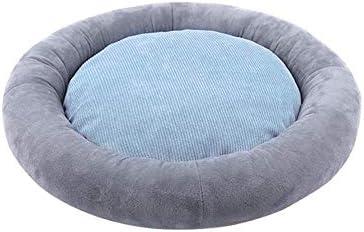 犬小屋猫ソファ、取り外し可能なペットベッド・グレー64x10cm(25x4inchを)スリーピングフォーシーズンズユニバーサル・猫ベッド犬のベッド小型犬ディープ、サイズ名カバー:64x10cm(25x4inch)、色名:グレー (Color : Gray, Size : 64x10cm(25x4inch))