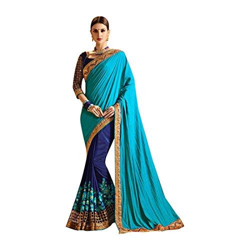 Bridal Bollywood Saree Sari Collection Blouse Wedding Party Wear Ceremony Women Muslim 740 3