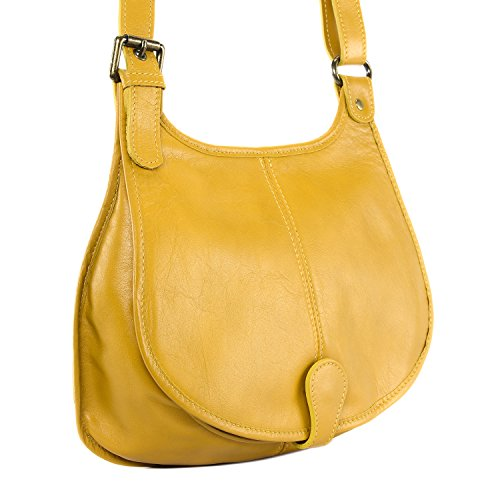 cuir main souple collection à modèle sac bandoulière Cuir Destock nouvelle 2018 Jaune monroe qXSt1F