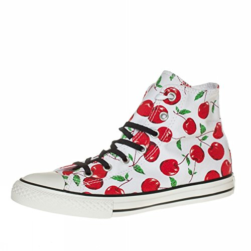 Converse Chuck Taylor unisex Hi Canvas Graphic unisex Taylor kinder, canvas, sneaker high Bianco-rosso f8d01a