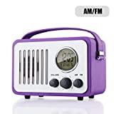 Best Am Fm Portable Radios - AM/FM Radio Portable Alarm Clock Radio with LCD Review