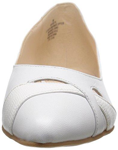 mujer soporte Blanco Nine piel West Blanco de calzado OFw5Uq8x