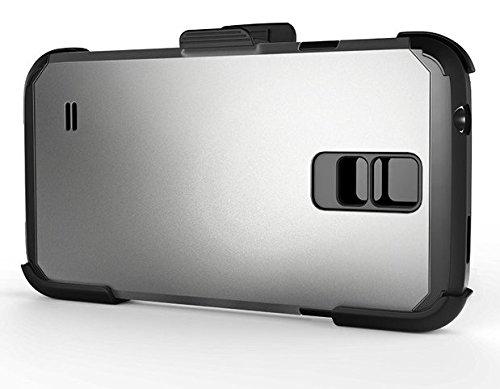 wholesale dealer c3080 6c560 Encased Belt Clip Holster for Spigen Galaxy S5 Tough Armor Case (Samsung  Galaxy S5)