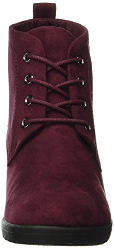 Marco Tozzi Damen 25111 Kurzschaft Stiefel Rot (Bordeaux 549)