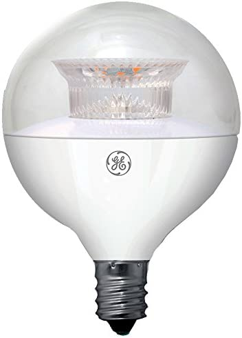 Sunlite G16.5//LED//5W//D//E12//CL//ES//27K//3PK Dimmable Energy Star 2700K Candelabra Base Warm White LED Globe G16.5 5W Light Bulb Renewed Clear 3 Pack