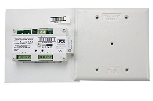 Est Edwards Siga Cc1 Fire Alarm Intelligent Analog Addressable Single Input Signal Module By Edwards System Technologies  Est