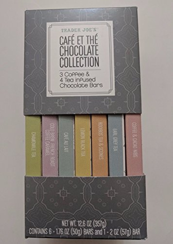 Trader Joes Café et thé Chocolate Collection 12.6 oz (Trader Joes Coffee Candy)