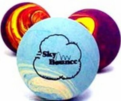 Sky Bounce Rubber Ball Rainbow (Pack of