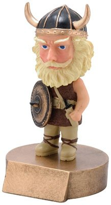 - Trophy Crunch Viking Bobblehead Gag Gift - Free Custom Engraving