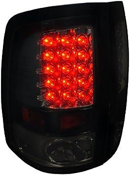 Red Third Brake//Reverse Red//White LED Light For Dodge 09-16 Ram 1500//2500//3500
