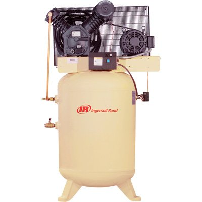 - Ingersoll Rand Type-30 Reciprocating Air Compressor - 10 HP,...
