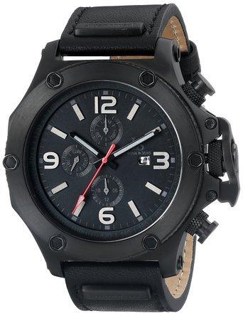 ジョシュア&サンズ Joshua & Sons Men's JS75BK Analog Display Swiss Quartz Black Watch 男性 メンズ 腕時計 【並行輸入品】 B00YTT4FK4