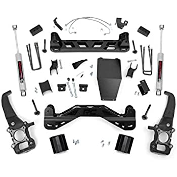 Rough Country - 54720 - 4-inch Suspension Lift Kit w/ Premium N3 Shocks for Ford: 04-08 F150 4WD