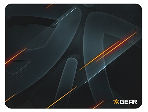 Fnatic Gear Focus Neon Edition Pro Gaming Mouse Pad (size XL, Cloth) - 15.7 x 12.0 x 0.2 Inches