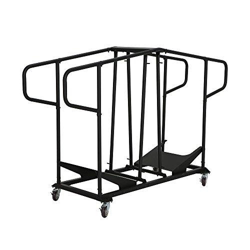 folding chair storage cart