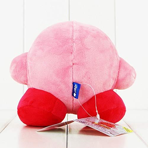 lizhirui Venta De 13 Cm Kawaii Kirby Felpa Juguete Encantador Pink Kirby Juego Personaje De La Mu/ñeca De Peluche Suave Juguete De Dibujos Animados Ni/ños Ni/ñas Regalo De Cumplea/ños