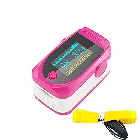 Denshine – Nuevo color OLED Pantalla LED Módulo de – Dedo Oxímetro de pulso de dedo